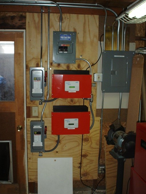 inverters our solar photovoltaid system sunny boy inverter wiring diagram at bayanpartner.co